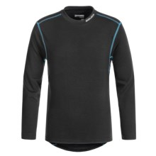 Bauer Core Base Layer Top - Long Sleeve (For Big Kids) in Black - Closeouts