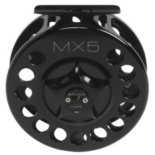 Bauer Fly Reels MacKenzie Xtreme MX5 Fly Fishing Reel - 10-11wt in Black/Black - Closeouts
