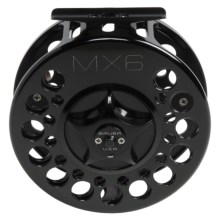 Bauer Fly Reels MacKenzie Xtreme MX6 Fly Fishing Reel - 11-15wt in Black/Black - Closeouts
