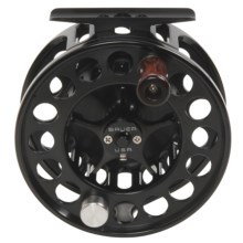 Bauer Fly Reels MacKenzie Xtreme Perfect MXP4 Fly Fishing Reel - 7/8w in Black - Closeouts