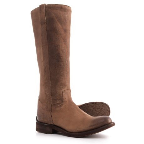 Image of Bay Apache Fashion Riding Boots - 15? Round Toe (For Women)