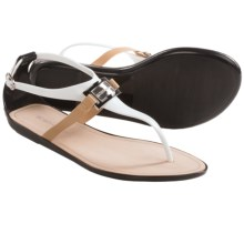 BCBGeneration Cadette Sandals (For Women) in Black/White - Closeouts