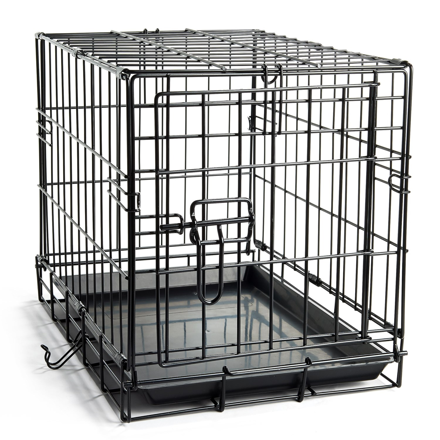 be good easy pet crate  extra small  save  - be good easy pet crate  extra small in black