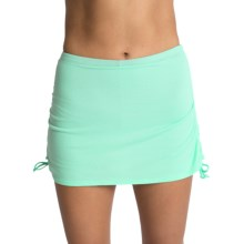 Be Up Essential Skort (For Women) in Green/Black - Closeouts