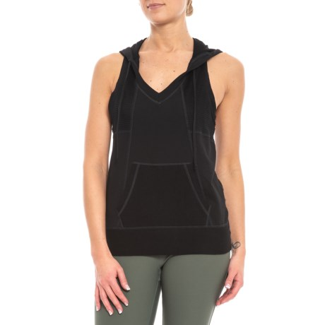 Image of Beach Day Racerback Hoodie - Sleeveless (For Women)
