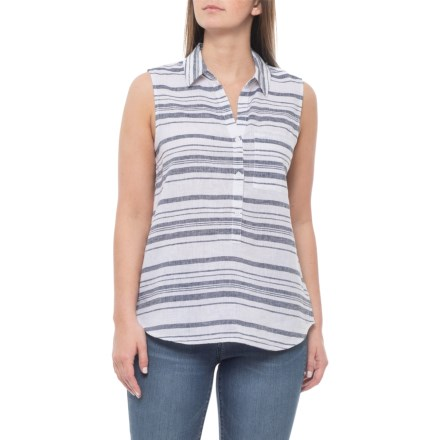 2aa8dee1e4 Beach Lunch Lounge Elderberry Club Ammara Blouse - Sleeveless (For Women)  in Elderberry -