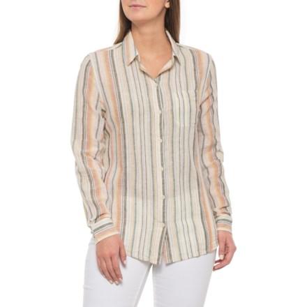 17b71536c Beach Lunch Lounge High Tide Charley Shirt - Linen-Cotton, Long Sleeve (For