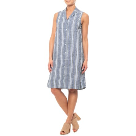 2b6edc8fa4 Beach Lunch Lounge Oxford Brynn Dress - Sleeveless (For Women) in Oxford -  Closeouts