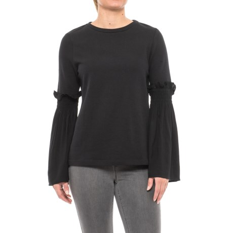 Beach Lunch Lounge Shailene Shirt - Long Sleeve (For Women) in Black
