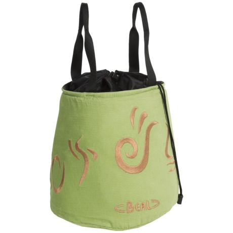 Beal Corduroy Monster Chalk Bag in Green