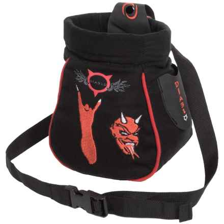 Beal Diablo Click-Clack Chalk Bag in Red - Closeouts