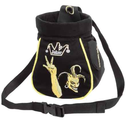 Beal Joker Click-Clack Chalk Bag in Yellow - Closeouts