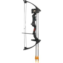 Bear Archery Brave III Compound Bow in Black - Closeouts