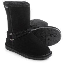 Bearpaw Adele Sheepskin Boots - Suede (For Women) in Black - Closeouts