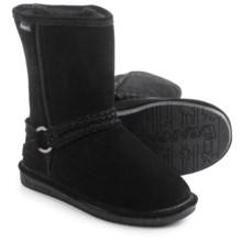 Bearpaw Adele Sheepskin Boots - Suede (For Women) in Black - Closeouts