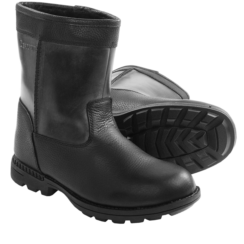 leather sheepskin boots mount mercy