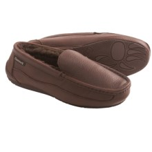 Bearpaw Baldwin Slippers - Sheepskin Lining (For Men) in Chocolate - Closeouts
