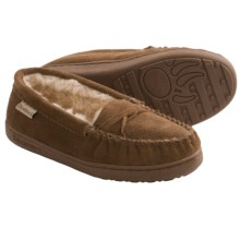 Bearpaw Brigetta Slippers - Suede, Sheepskin Lining (For Women) in Hickory Ii - Closeouts