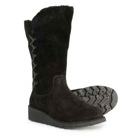Bearpaw Camila Boots - Suede (For Women) in Black Ii - Closeouts