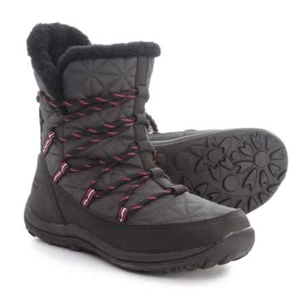 Bearpaw Celine Snow Boots - Waterproof (For Women) in Charcoal - Closeouts