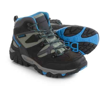 Bearpaw Corsica Hiking Boots - Waterproof (For Women) in Charcoal/Blue - Closeouts