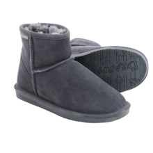 Bearpaw Demi II Sheepskin Boots - Suede (For Women) in Charcoal/Black - Closeouts