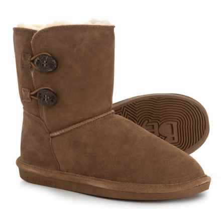 Bearpaw Elena Boots (For Girls) in Hickory - Closeouts