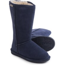 Bearpaw Emma Tall Boots - Suede, Sheepskin-Lined (For Women) in Indigo - Closeouts