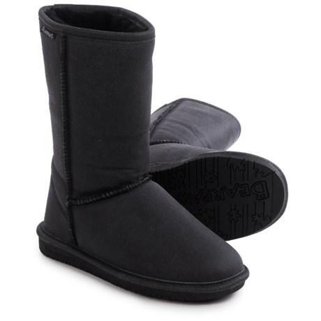 """Bearpaw Emma Winter Boots - 10"""", Suede, Sheepskin-Lined (For Women)"""