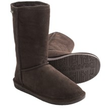 "Bearpaw Emma Winter Boots - 10"", Suede, Sheepskin-Lined (For Women) in Chocolate - Closeouts"