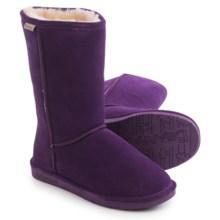 """Bearpaw Emma Winter Boots - 10"""", Suede, Sheepskin-Lined (For Women) in Deep Purple - Closeouts"""