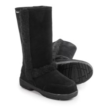 Bearpaw Eskimo Sheepskin Boots - Suede (For Women) in Black Ii - Closeouts