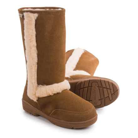 Bearpaw Eskimo Sheepskin Boots - Suede (For Women) in Hickory Ii - Closeouts