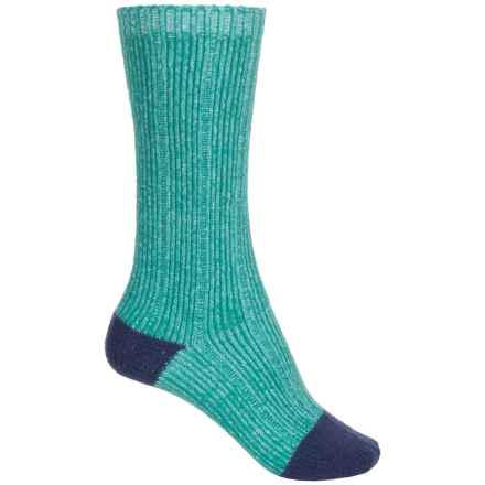 Bearpaw Knee-High Boot Socks - Over the Calf (For Big Girls) in Teal - Closeouts