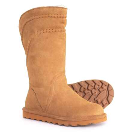 Bearpaw Lea Boots - Suede (For Women) in Hickory Ii - Closeouts