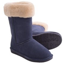 Bearpaw Marissa Boots - Sheepskin Lining (For Women) in Indigo - Closeouts