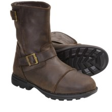 Bearpaw McKinley II Boots - Leather, Sheepskin-Wool Lining (For Men) in Dark Brown - Closeouts