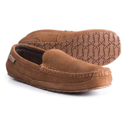 Bearpaw Peeta Slippers - Boiled Wool (For Men) in Hickory Tweed - Closeouts