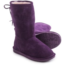 Bearpaw Phyllis Sheepskin Boots - Suede (For Women) in Deep Purple - Closeouts