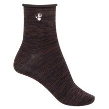 Bearpaw Roll-Top Ankle Socks (For Women) in Java - Closeouts