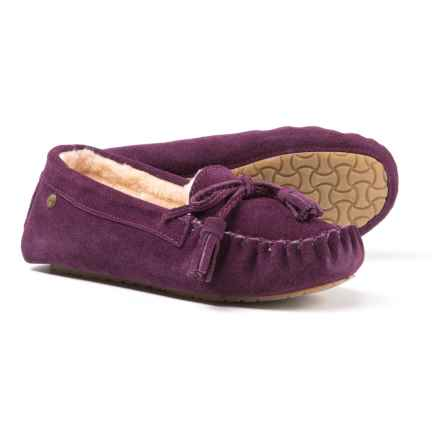 Bearpaw Rosalina Slippers - Suede (For Women) in Plum - Closeouts