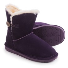 Bearpaw Rosie Boots - Sheepskin Lined (For Women) in Deep Purple - Closeouts