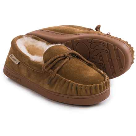 Bearpaw Sheepskin-Lined Moccasins (For Women) in Hickory Ii - Closeouts