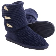 Bearpaw Tall Knit Boots (For Women) in Indigo - Closeouts