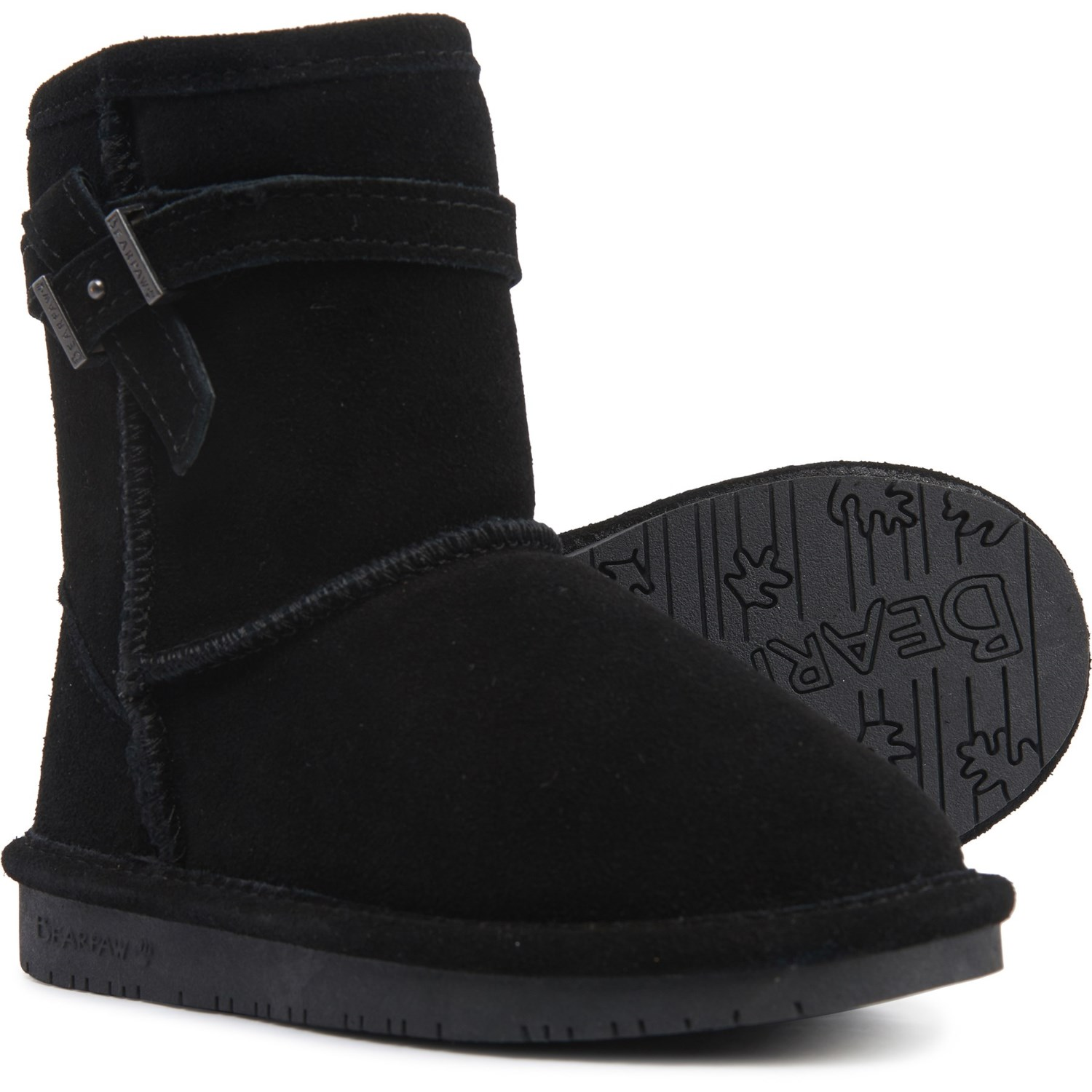 Bearpaw Val Wool-Lined Boots (For
