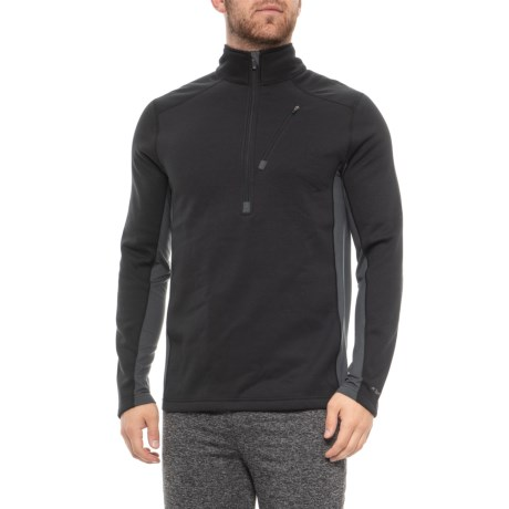 Image of Beast 4.0 Base Layer Top - UPF 50+, Zip Neck, Long Sleeve (For Men)