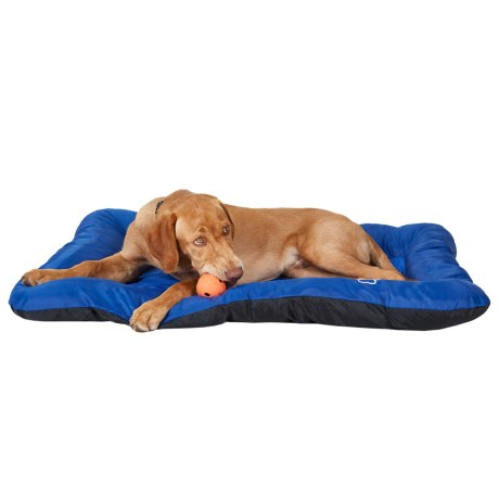 "Beatrice Home Fashions Cooling Gel Dog Crate Mat - 28x42"" in Navy/Blue"