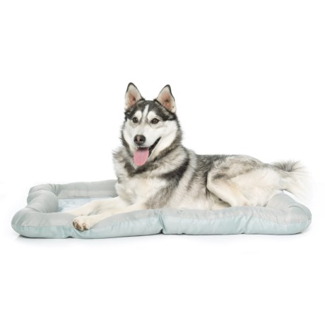 """Beatrice Home Fashions Gone Camping Cooling Gel Dog Crate Mat - 36x23"""""""