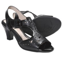 BeautiFeel Adele Sandals - Leather (For Women) in Black Combi - Closeouts