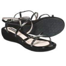 BeautiFeel Bonchon Sandals - Leather (For Women) in Black/Multi - Closeouts